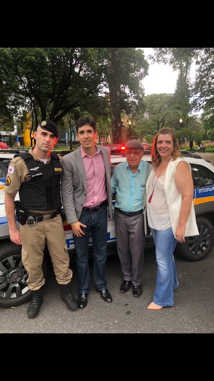 Entrega de Viatura á Policia Militar