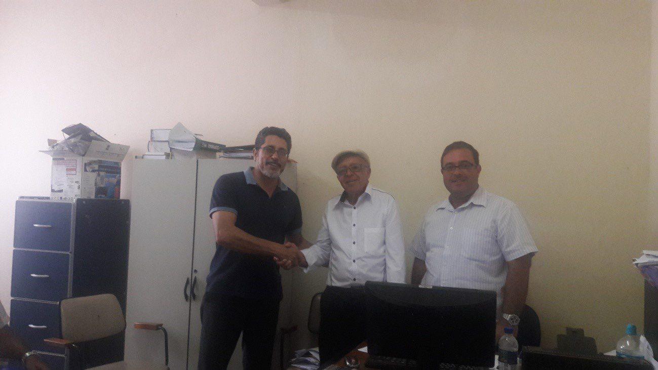 Reunião comSuperintendente Regional de Ensino