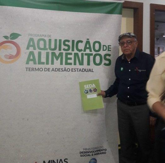 Evento na Emater – Programa da Distribuição de Grãos para a Agricultura Familiar