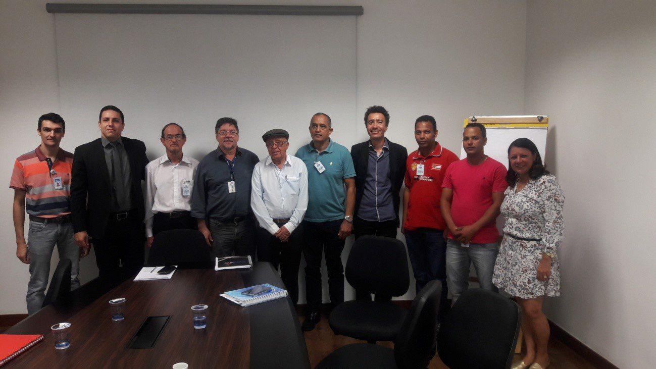 Reunião na Copasa para discutir ações de investimento no Município