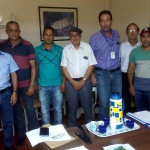 Reunião do Prefeito e Vereadores na COPASA em Diamantina