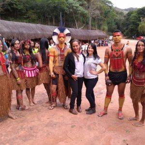 Visita ao povoado indígena