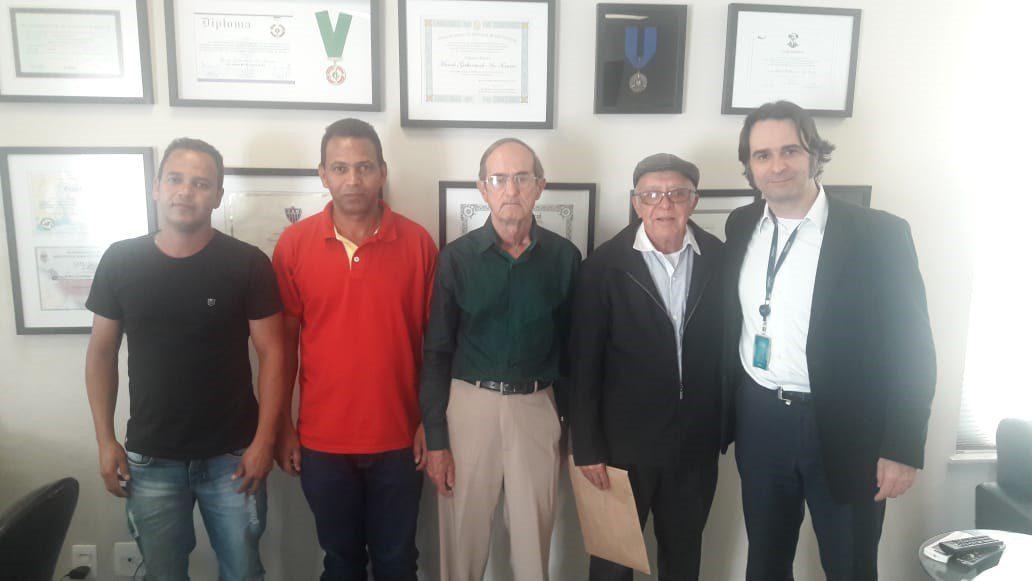 Reunião no Gabinete do Deputado Marcelo Aro