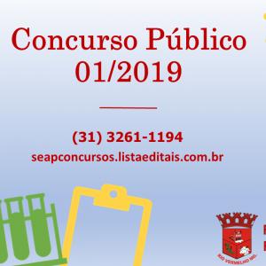 Concurso Público 01/2019