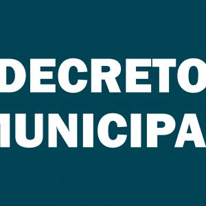 DECRETO MUNICIPAL Nº 22 DE 22 DE FEVEREIRO DE 2021