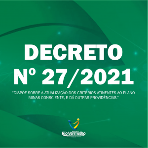 DECRETO MUNICIPAL Nº 27 DE 05 DE MARÇO DE 2021