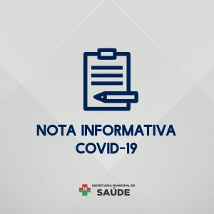 NOTA INFORMATIVA Nº 77/2021 (COVID-19)