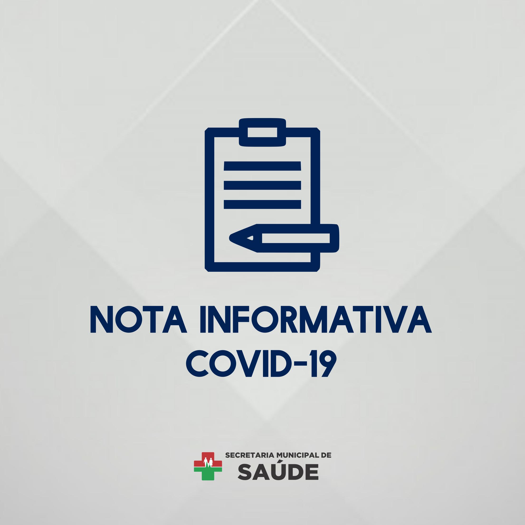 NOTA INFORMATIVA Nº 56/2021 (COVID-19)