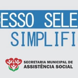 EDITAL DE PROCESSO SELETIVO SIMPLIFICADO Nº 002/2021 – SECRETARIA DE ASSISTÊNCIA SOCIAL