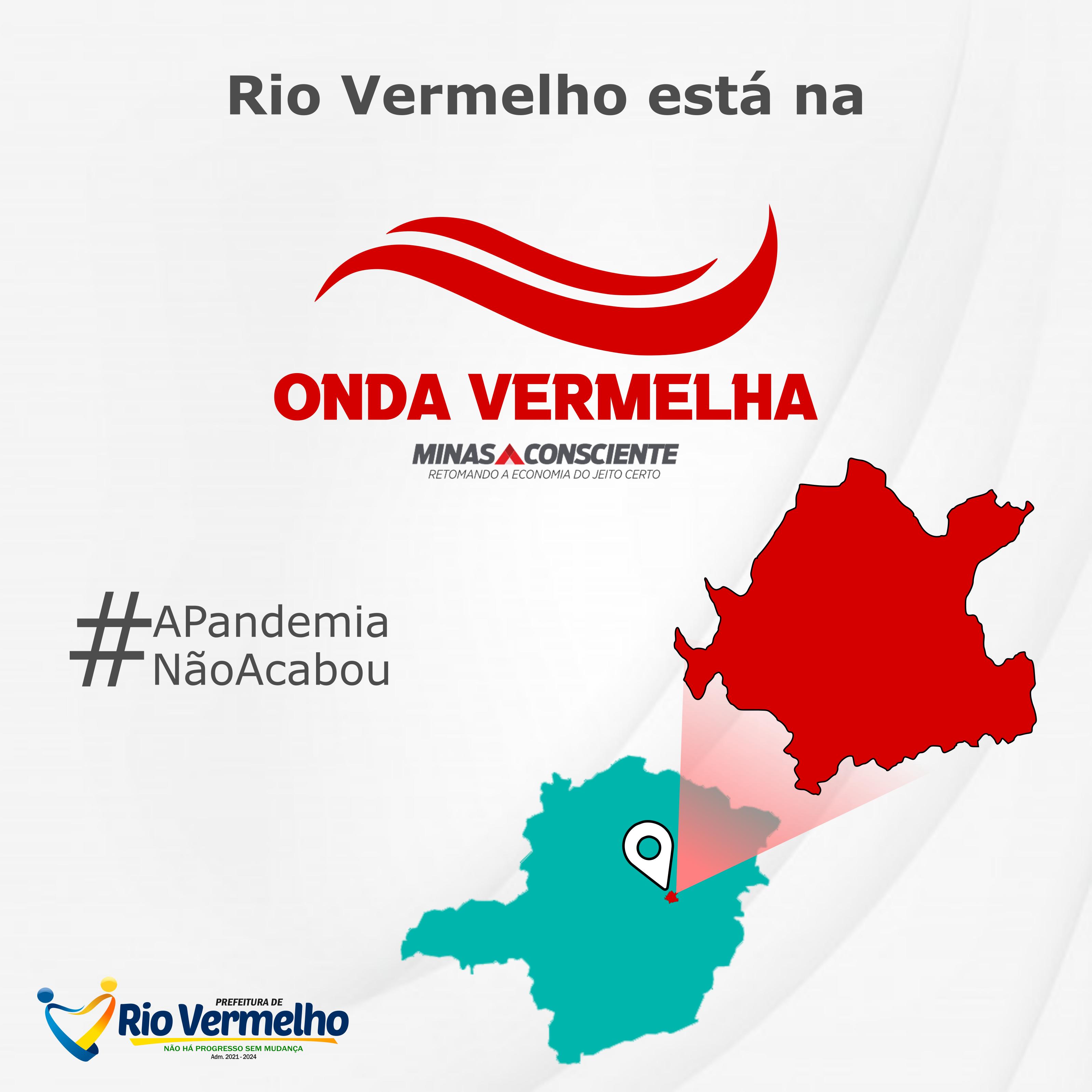 """MUNICÍPIO DE RIO VERMELHO MIGRA PARA A """"ONDA VERMELHA"""""""
