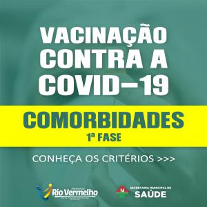 VACINAÇÃO: Município inicia vacinação de pessoas com comorbidades