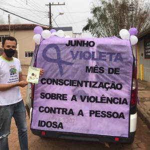 CONSCIENTIZAÇÃO NO DIA MUNDIAL DO COMBATE À VIOLÊNCIA CONTRA A PESSOA IDOSA