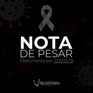 NOTA DE PESAR – 6º ÓBITO POR COVID-19 EM RIO VERMELHO
