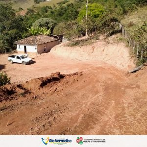 ABERTURA DE ESTRADA NA ZONA RURAL