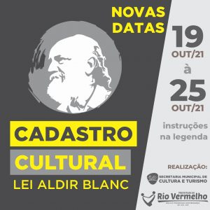 REABERTURA DO CADASTRO CULTURAL